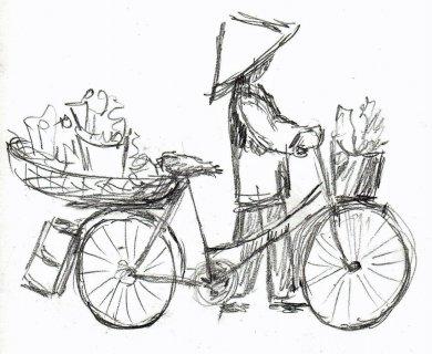 Voyage au vietnam - Fleuriste dessin ...