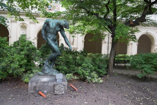 L'Ombre ou Adam, par Auguste Rodin (1840-1917). Jeu 21.05.2015, 11:12.
