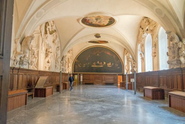 Réfectoire de l'abbaye bénédictine des Dames de Saint-Pierre. Jeu 21.05.2015, 11:26.