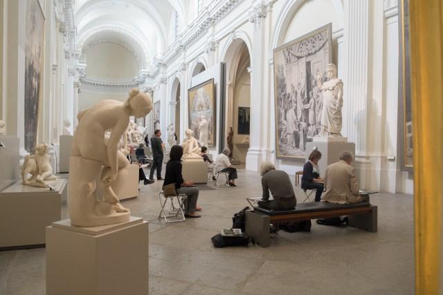 Salle des sculptures. Jeu 21.05.2015, 11:57.