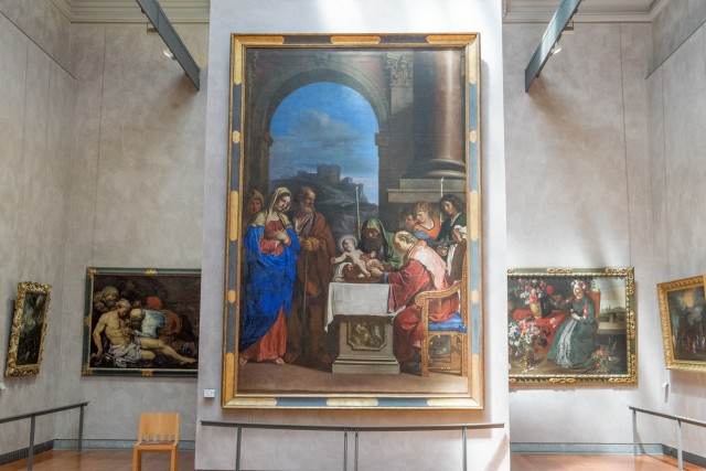 La Circoncision, par Le Guerchin, 1646. Jeu 21.05.2015, 14:37.