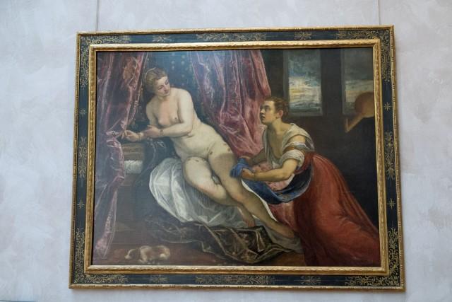 Danaë, par Le Tintoret, vers 1577, 1578. Jeu 21.05.2015, 14:41.