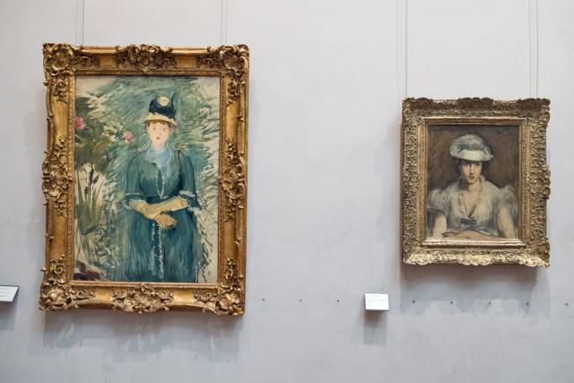 Edouard Manet, 1879. À g., Jeune fille dans les fleurs. À dr., Portrait de Marguerite Gautier-Lathuille. Jeu 21.05.2015, 15:02.