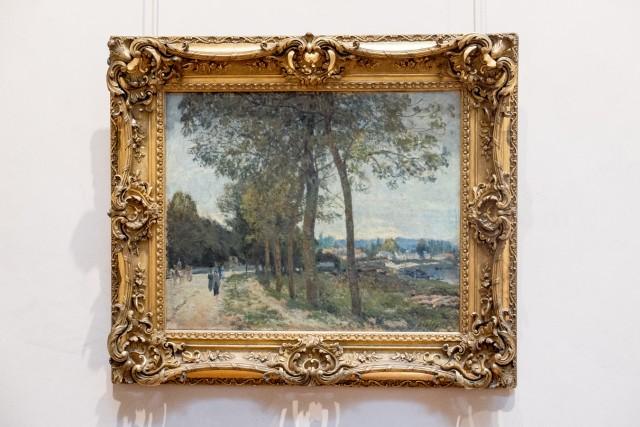 La Seine à Marly, Alfred Sisley, 1876. Jeu 21.05.2015, 15:09