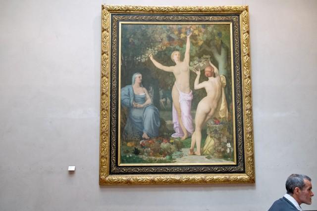 L'Automne, Puvis de Chavannes, 1864. Jeu 21.05.2015, 15:27.