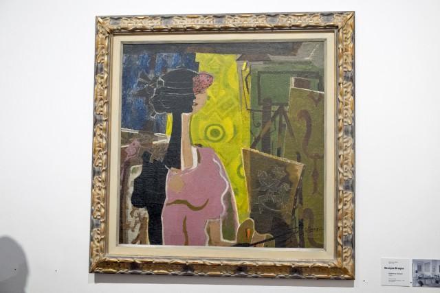 Femme au chevalet, Georges Braque, 1936. Jeu 21.05.2015, 16:08.