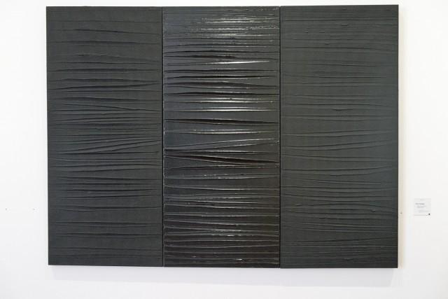 Acrylique sur toile, Pierre Soulages, 25/02/2009. Jeu 21.05.2015, 16:15.