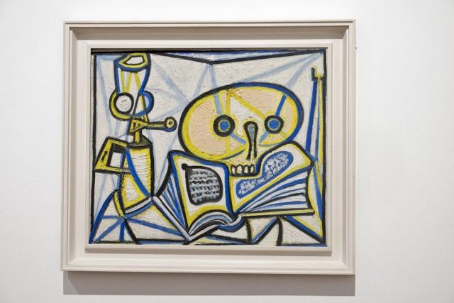 Vanité, Picasso, 01/03/1946, huile sur contreplaqué. Jeu 21.05.2015, 16:28.