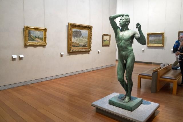 L'Âge d'airain, Rodin, 1876, bronze. Jeu 21.05.2015, 16:38.
