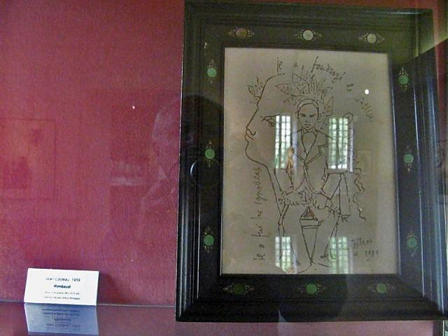 11/48. Charleville-Mézières. Musée Rimbaud. Rimbaud, Jean Cocteau (1959). Mer 29.04.2009 - 10:14.
