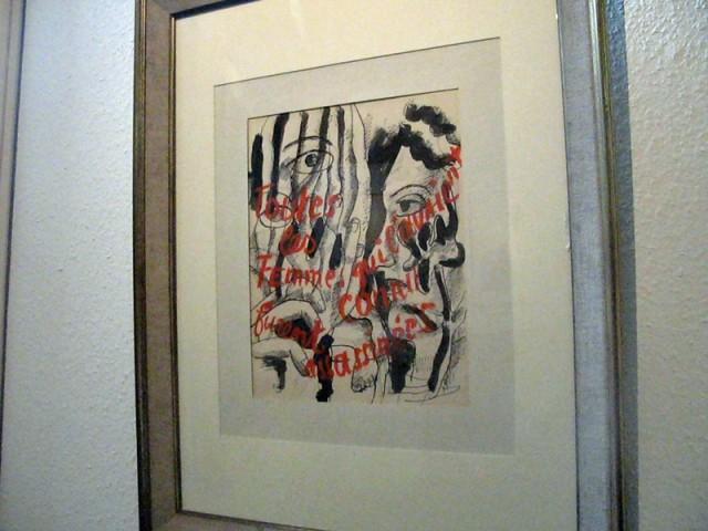 15/48. Musée Rimbaud. Illustration pour Les lluminations (1949). Mer 29.04.2009 - 10:18.
