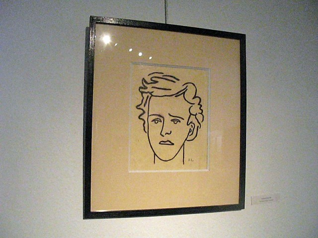 19/48. Musée Rimbaud. Arthur Rimbaud, par Fernand Léger. Mer 29.04.2009 - 10:36.