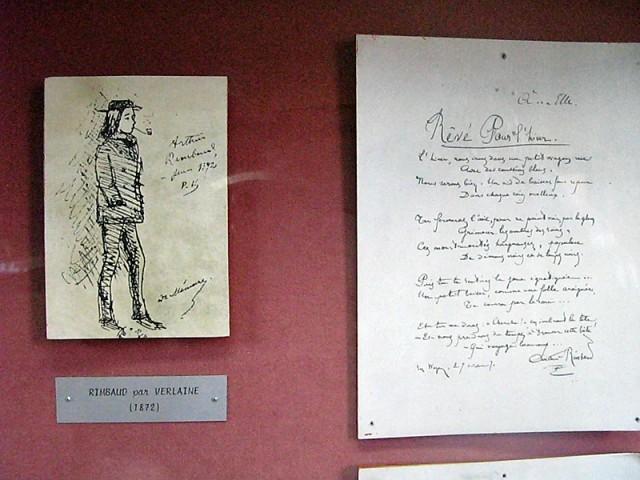 28/48. Rimbaud par Verlaine (1872); manuscrit de Rêvé pour l'hiver. Mer 29.04.2009 - 10:49.