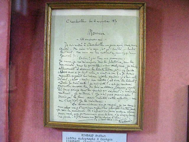 30/48. Lettre autographe à Georges Izambard (2 novembre 1870). Mer 29.04.2009 - 10:54.