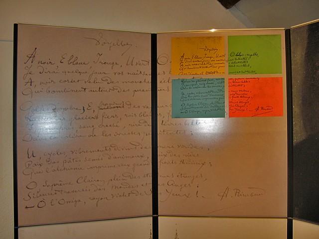 33/48. Charleville-Mézières. Musée Rimbaud. Mer 29.04.2009 - 11:07.